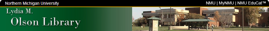Olson Library Home Page