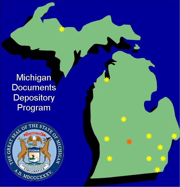 Michigan Documents Depositor Program Logo