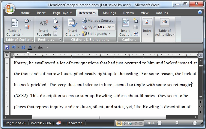 using microsoft word to create references and bibliographies  when you use material in a paper that should be cited click on the insert citation button